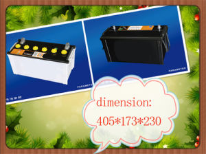 Durable Auto Car Batteries Mf and Dry Charged JIS Standard and DIN 12V 32ah O 220ah for Various Vehicles pictures & photos