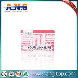 Cmyk Printing RFID MIFARE Loyalty Chip Card with Barcode pictures & photos
