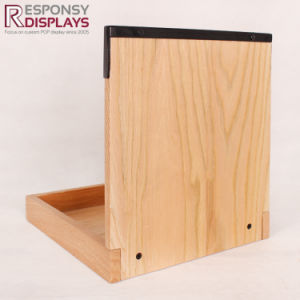 Wooden Counter Top Oil Bottle Display Stand pictures & photos
