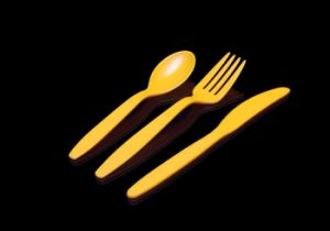 Food Grade Flatware Set Disposable Plastic pictures & photos