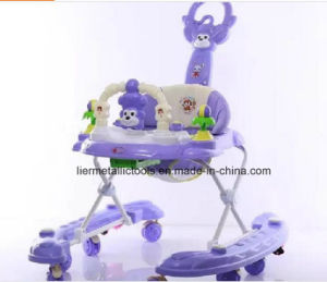 Plastic Toy Style Baby Walker with Seat Cover pictures & photos
