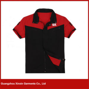 Custom Made Short Sleeve Working Shirts for Summer (W268) pictures & photos
