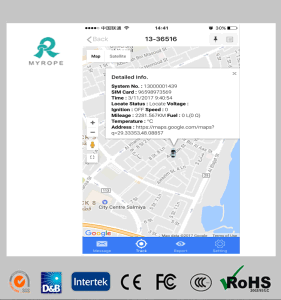 Advanced Cloud Sever Based Vehicle GPS Tracking Software pictures & photos