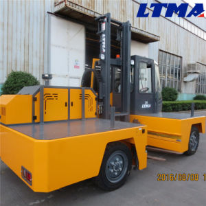 3 Ton Diesel Side Loader Forklift Truck for Sale pictures & photos