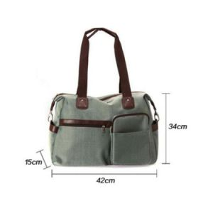 Fashion Mummy Women Baby Diaper Bag Nappy Changing Shoulder Bag pictures & photos