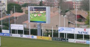 Outdoor Full Color P16 Football LED Display for Digital Billboard pictures & photos