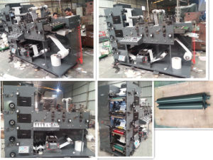 Flexo Printing Machine with 2 Die Cutting and 1 Sheeting pictures & photos