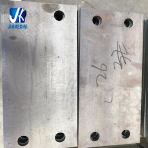 Custom Sheet Metal Fabricated Slotted Base Plate 250*150*16mm pictures & photos