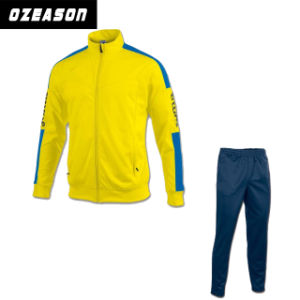 Fashion 100% Polyester High Quality Sportswear Tracksuits pictures & photos