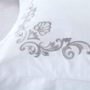 Hotel Promotion Satin Embroidered Bedding Sets pictures & photos