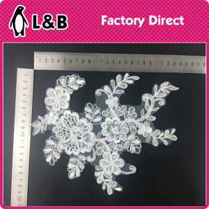 New Design Popular Beaded Bridal Beaded Applique pictures & photos