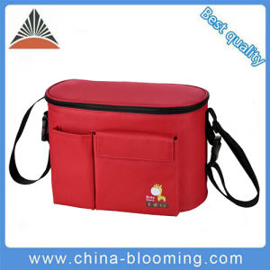 Thermal Insulation Cooler Mummy Changing Shoulders Baby Diaper Bag pictures & photos