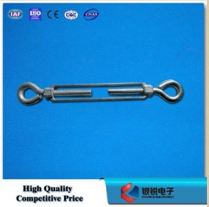 Us Type Construction Jaw and Jaw Wire Rope Turnbuckle pictures & photos