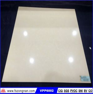Foshan Yellow Crystal Stone Porcelain Polished Floor Tile (VPP6002) pictures & photos
