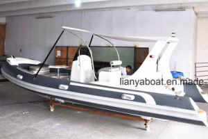 Liya 10 Persons Rib Boat with Motor Inflatable Rescue Boat pictures & photos
