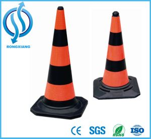 Highly Respective PVC Traffic Cone with Flexible and Retractable Body pictures & photos