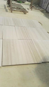 White Serpenggiante Marble Tile for Flooring pictures & photos
