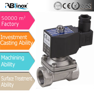 Guangdong Stainless Steel Casting Solenoid Valve pictures & photos