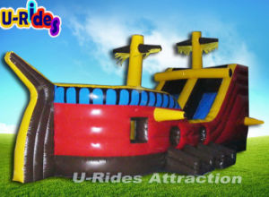 Inflatable Pirate Ship Castle with Slide pictures & photos