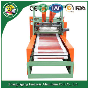 Automatic Cutting and Rewinding Machine for Household Aluminum Foil Roll pictures & photos
