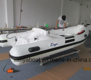 Liya 3.8m Rigid Inflatable Boat Manufacturer Rubber Boat for Sale pictures & photos