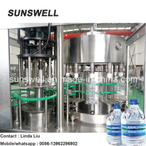 5L Automatic Filling Machine Beverage Machine Washing Filling Capping Machine pictures & photos
