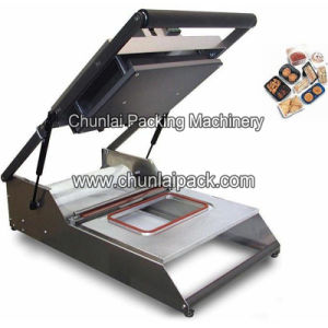 Fast Food Box Manual Tray Sealing Machine pictures & photos
