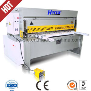 Mechanical Q11 Series Metal Sheet Cutting Machine pictures & photos