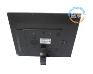Motion Sensor 12 Inch Vintage LED Digital Photo Frame for Commercial Ads (MW-1207DPF) pictures & photos