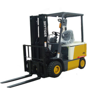 Shytger Brand Electric Forklift 1.5 Ton pictures & photos
