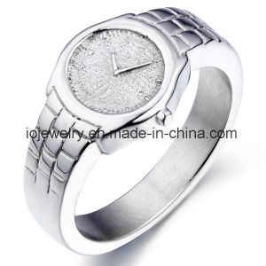 Fashion Jewelry Stainless Steel High Polished Ring pictures & photos