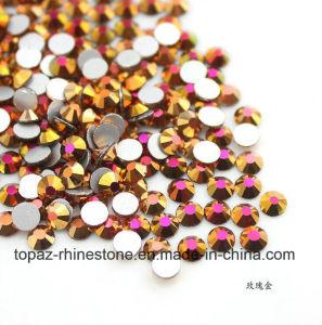 Hotfix DMC Stone, Hot Fix Mc Stone, Hot Fix Strass Blue Zircon Ab pictures & photos