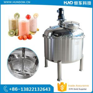 Sanitary Stainless Steel Beverage Electric Heating Mixing Tank pictures & photos