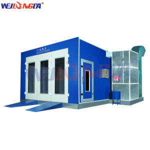 Auto Car Painting Spray Booth with Best Quality Wld8100 pictures & photos