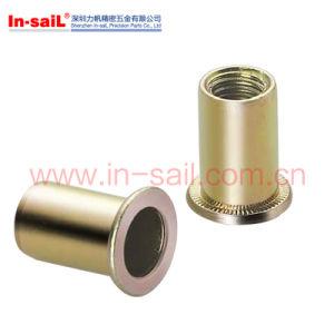 DIN7339 Steel Zinc Plated Flat Head Tubular Rivets pictures & photos