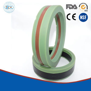 Rubber Filled PTFE, Glass, Carbon V-Packing Hydraulic Rubber Seals pictures & photos