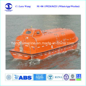25 Man Fire-Resistant Totally Enclosed Lifeboat with Davit pictures & photos