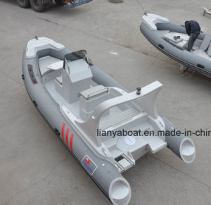 Liya 5.8-6.6m Hypalon Inflatable Boat with Engine for Sale pictures & photos