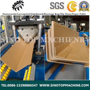Good Price Cardboard Protective Corner Making Machine pictures & photos