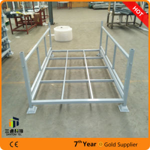 Storage Stacking Pallet, Easy Assemble Stillage for Fabric Rolls pictures & photos
