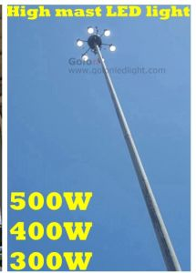 12-40m LED High Mast Lighting 500W 400W 300W 5 Years Warranty Factory Price pictures & photos