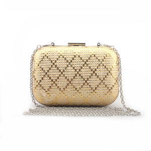 High Quality Women Handbag Shining Newest Box Clutch Bag pictures & photos