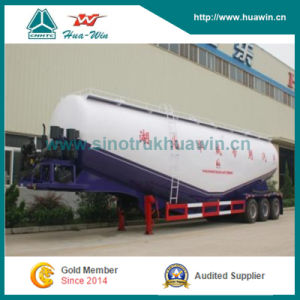 3 Axle Bulk Cement Tanker Semi Trailer pictures & photos