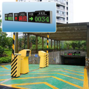 Outdoor F5 Parking Guidance System LED Display Screen pictures & photos