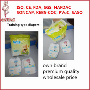 Own Brand Disposable Super Dry Soft Training Type Pants Baby Diaper pictures & photos