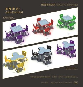 Kaiqi Children′s Tables and Chairs - Many Colours and Styles Available (KQ50164A) pictures & photos