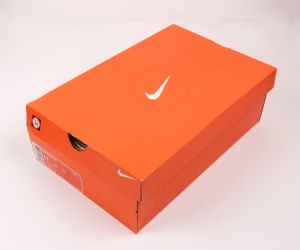 Orange Color Ragid Shoes Box with Custom Printing pictures & photos