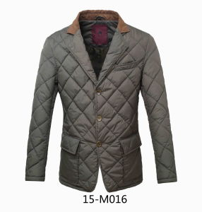 Casual Men Quilted Winter Suit (15-M016) pictures & photos