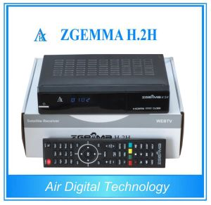 Digital Satellite Receiver DVB S2 + DVB T2 Satellite & Terrestrial Receiver with Dual Core CPU Zgemma H. 2h pictures & photos