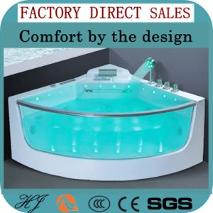 Freestanding Modern Style Bathtub with LED Light (5218) pictures & photos